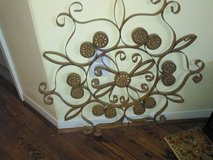 2 gold or tan metal decor in The Woodlands, Texas