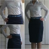 light blue blouse for office in Ramstein, Germany