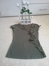 esprit khaki shirt with bow in Ramstein, Germany