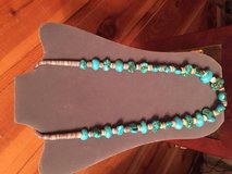 Turquoise Sterling Silver Necklace in Alamogordo, New Mexico