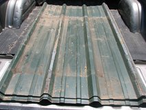 used R  panel roofing 9 sheets 8 feet long. also 8 sheets new not pictured in Alamogordo, New Mexico