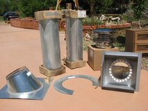 Metal Fab 2100 degree Temp gaurd chimney in Alamogordo, New Mexico