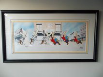 Warner Bros signed Cel featuring Bugs Bunny and Yosemite Sam w/COA signed too! in Bartlett, Illinois