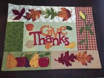 Thanksgiving placemats in Camp Lejeune, North Carolina