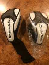 2 TAYLOR MADE FAIRWAY WOOD HEADCOVERS-NEW in Aurora, Illinois