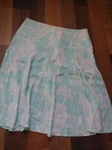 H&M turquoise white tulip skirt in Ramstein, Germany