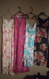 Excellent condition, worn once summer dresses in Lumberton, North Carolina