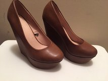 Brown closed toe wedges forever 21 in Pleasant View, Tennessee