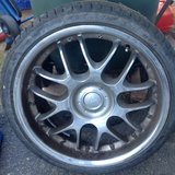 "a set of 19"" rims with tires 235/35 in Oceanside, California"