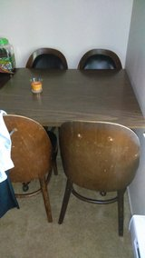 Antique table and chairs in Fort Lewis, Washington