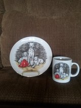 fireman/dalmation plate and cup in Sugar Grove, Illinois