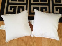 NEW 2 Hobby Lobby small craft pillows in Batavia, Illinois
