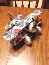 Shasta Cola handcrafted airplane in Naperville, Illinois
