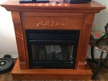 Gas fireplace in Beaufort, South Carolina