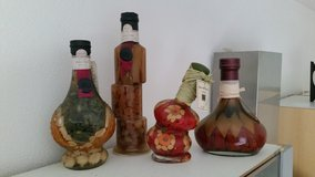 bottled spices for kitchen decor in Ramstein, Germany