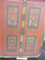 Antique cabinet with hand painting in Baumholder, GE