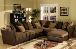 Extra Large Sectional-Can be made still larger or smaller - monthly payments possible in Lakenheath, UK