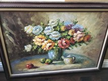Flower Painting in Conroe, Texas