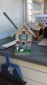 bird house in Lawton, Oklahoma