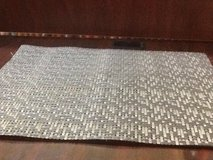 Silver & Gray Placemats - 4 Pcs in The Woodlands, Texas