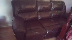 Leather Recliner Sofa in Conroe, Texas