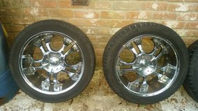 """20"""" BZO wheels and tires $500/OBO in Houston, Texas"""