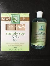 Simply soy refills , hair remover +pre-wax cleanser in Fort Campbell, Kentucky