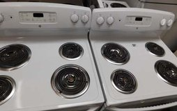 STOVE- GE ELECTRIC (ALMOST NEW) WITH WARRANTY in Camp Pendleton, California