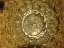 Glass Egg Serving Tray in The Woodlands, Texas