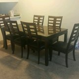 Dinning table with 6 chairs in MacDill AFB, FL
