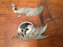 Antique Silver Rare brooches 1900's in Okinawa, Japan