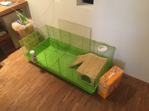 Rabbit or small animal cage in Spangdahlem, Germany