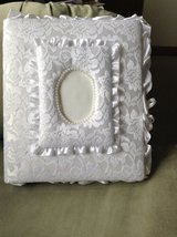 Lace covered baby or wedding album book in Brockton, Massachusetts