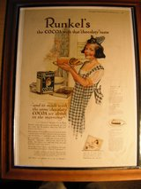 Runkels Cocoa Advertising Reduced $10 in Ramstein, Germany