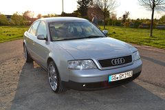 2000 Audi A6 SILVER NEW INSPECTION in Wiesbaden, GE