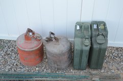 Gas Cans in Alamogordo, New Mexico