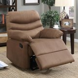NEW!! Comfortable / quality SUEDE chair recliner (new in pkg)!! in Camp Pendleton, California