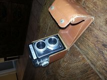 antique Kodak Redlex II camera in case in Houston, Texas