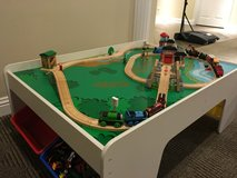 Train / Activity Table w/ Thomas the train and tracks and bins in Algonquin, Illinois