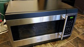 Chef's Mark Large Stainless Microwave in Fort Campbell, Kentucky