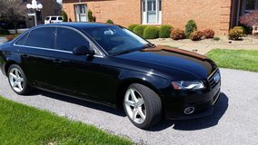 2010 AUDI a4 Black on Black in Fort Campbell, Kentucky