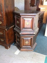 Matching Solid Wood Night Stands in Fort Polk, Louisiana