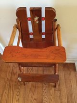 Doll toy high chair vintage in Morris, Illinois
