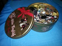 antique tin full of antique buttons in Houston, Texas