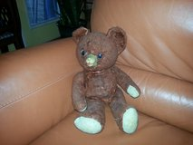 antique teddy bear, head turns, in Houston, Texas