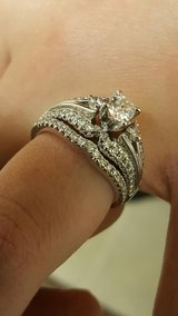 Engagement ring and Wedding band bridal set: size 7 in Camp Pendleton, California