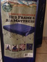 2 Queen size collapsible bed frames (air mattress not included) in Shreveport, Louisiana