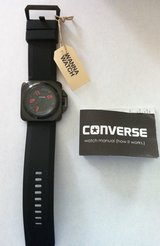 Converse Overtime Black Ion Stainless Steel Case Men's Watch - new with tags in Stuttgart, GE