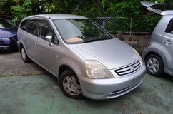 *BooKoo SALE!* 03 Honda Stream* 7 Seater W/ 3rd Row Option, Excellent Condition, Clean!* in Okinawa, Japan