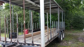 20' Barbeque Trailer Unfinished in Conroe, Texas